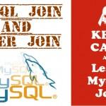 mysql join and inner join