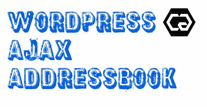 AJAX Address-book